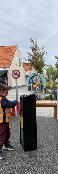 Storyteller Bornenes Trafiksplads Helsinge